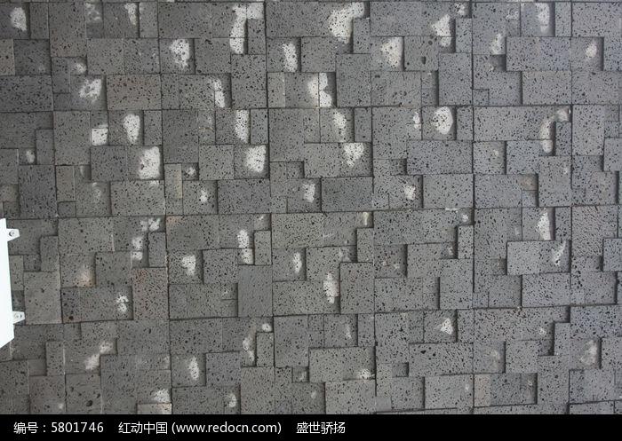 石砖背景墙图片