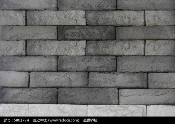 水泥砖背景墙图片