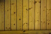 原木背景板