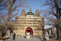 北京真觉寺(五塔寺)金刚宝座塔