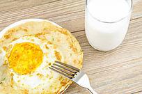 荷包蛋早餐