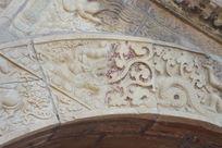 金刚宝座塔北拱券门上的六拿具神鲸