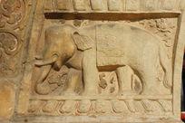 金刚宝座塔塔基石雕大象