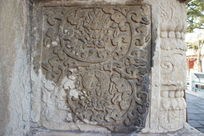 五塔寺金刚宝座塔须弥座上的雕花纹饰