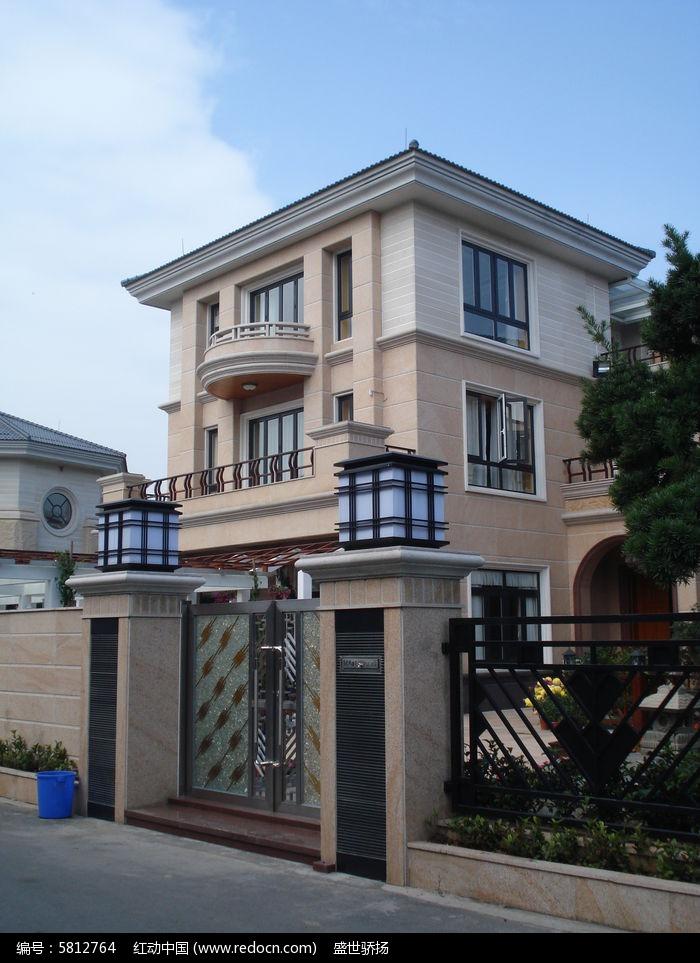 别墅入口建筑图片,高清大图