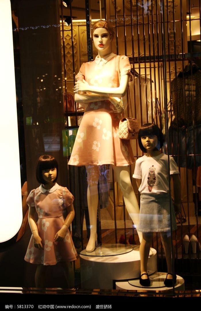 儿童服装模特图片,高清大图_零售百货素材