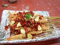 美味 串串虾