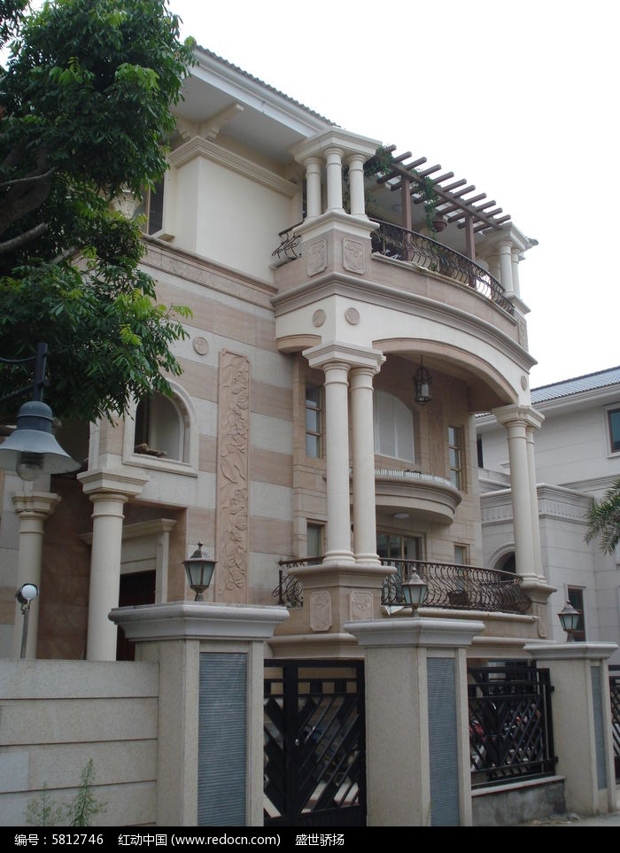 欧式住宅建筑图片