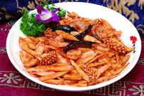三鲜烧竹笋