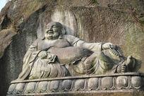 石刻弥勒佛