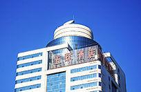 鞍山五环酒店顶部建筑