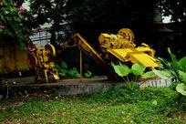 广州红砖厂黄色机床