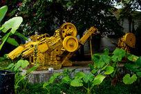 黄色机床广州红砖厂