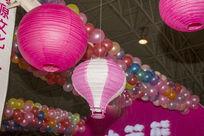 热气球式吊灯