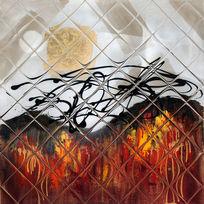 抽象高清背景墙壁画