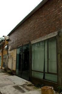 广州红砖厂老厂房墙