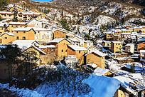徽州土楼雪景