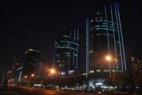 蓝光LG大厦夜景