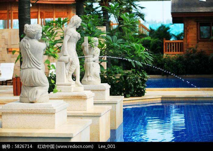 欧式园林景观水景喷泉