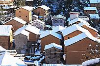 阳产土楼的冬景