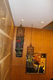 酒店装饰鸟笼