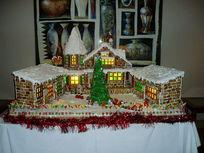 糖和饼干建造的房屋