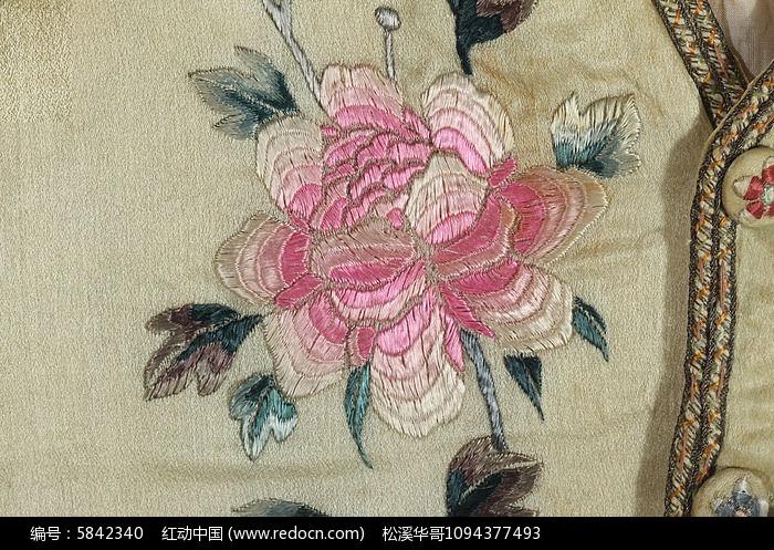 刺绣牡丹花高清图片下载 编号5842340 红动网图片