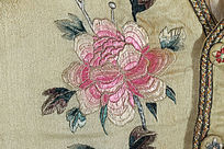 刺绣牡丹花
