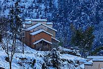 金龙山民居雪景