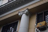 欧式花纹柱子