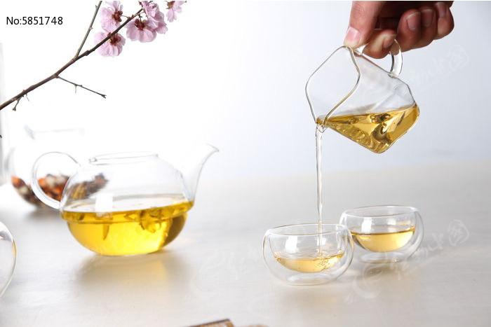 倒茶图片,高清大图_茶饮茶具素材
