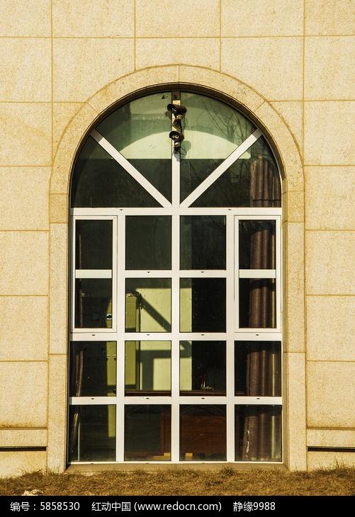 欧式半圆窗素材