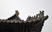 大殿顶部设计