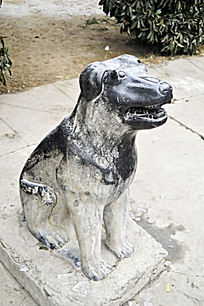 生肖石雕狗