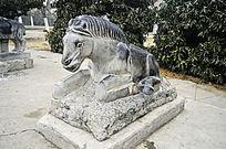 生肖石雕马