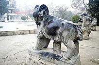 生肖石雕羊