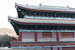 中国古典彩绘建筑