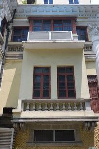 广州沙面老典藏馆门窗