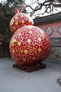 花纹红葫芦