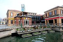 苏州金鸡湖休闲广场酒吧街
