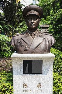 八一南昌起义纪念馆陈赓塑像