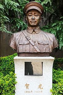 八一南昌起义纪念馆贺龙塑像