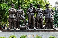 八一南昌起义纪念馆群雕一代英豪