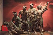 八一南昌起义纪念馆人物塑像