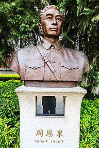 八一南昌起义纪念馆周恩来塑像