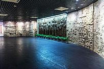 大型浮雕《他们从南昌起义走来》展厅
