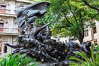 《南昌起义》大型铜雕
