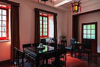 八一南昌起义旧址的内部装饰(局部)