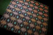 传统布纹图案背景