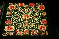 传统布艺花纹图案